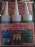 3D CHRYSTAL LACQUER PEARL COLOR SET A