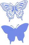 ELEGANT BUTTERFLY WITH ANGEL WINGS