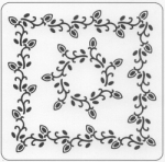 LEAVES STRING BORDER