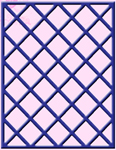 LATTICE WINDOW FRAME #2
