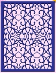 ARABIAN NIGHT RECTANGLE FRAME