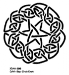 CELTIC STAR CIRCLE KNOT