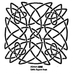 CELTIC SQUARE KNOT