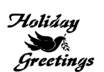 HOLIDAY GREETINGS-DOVE
