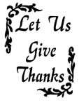 LET US GIVE THANKS