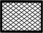 MEDIUM LATTICE FRAME
