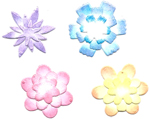SMALL STACKING FLOWER SET #2