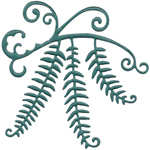FANCIFUL FERN LEAVES