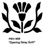 OPENING DAISY QUILT